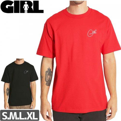 【ガール スケートボード GIRL SKATEBOARDS Tシャツ】HANDSTYLE STD TEE NO278