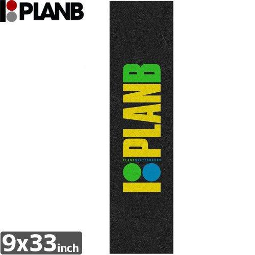 【プランビー PLAN-B スケボー デッキテープ】OG NEON JESSUP GRIPTAPE【9 x 33】NO4
