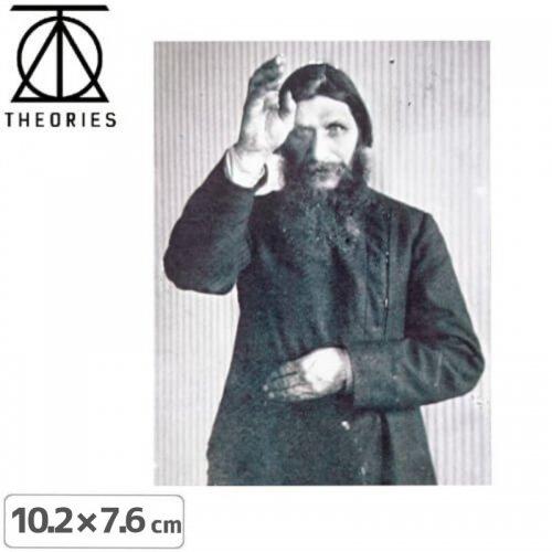 【セオリーズ THEORIES ステッカー】RUSPUTIN【10.2cm x 7.6cm】NO12