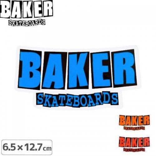 【ベーカー BAKER SKATEBOARD スケボー ステッカー】LOGO【3色】【6.5cm×12.7cm】NO66