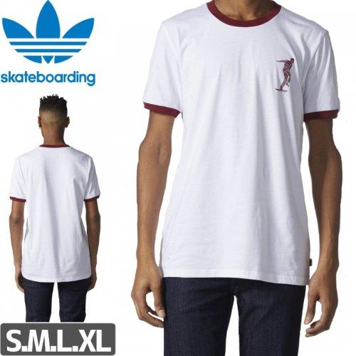 【アディダス ADIDAS SKATEBOARDING Tシャツ】ADIDAS x MAGENTA TEE NO37