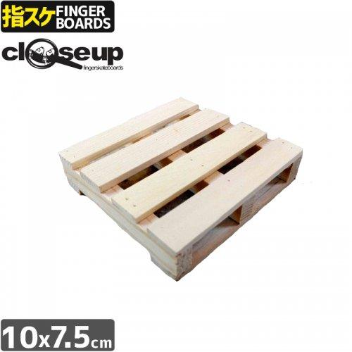 【クローズアップ CLOSE UP フィンガーボード】WOODEN STORAGE TRAY 収納 カーブ ボックス【10x7.5cm】 NO8