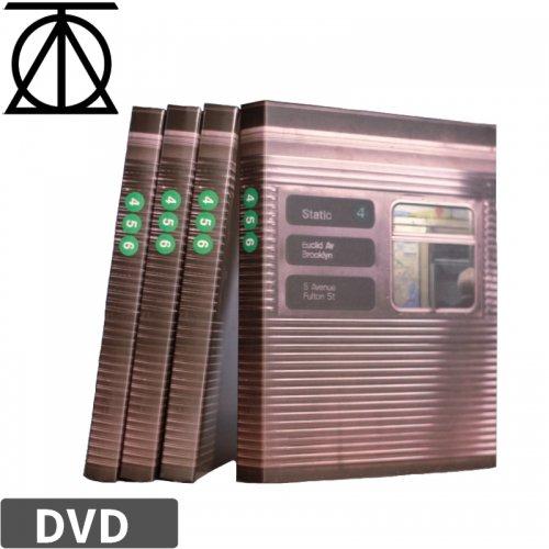 【THEORIES セオリーズ スケボー DVD】STATIC 4  NO2