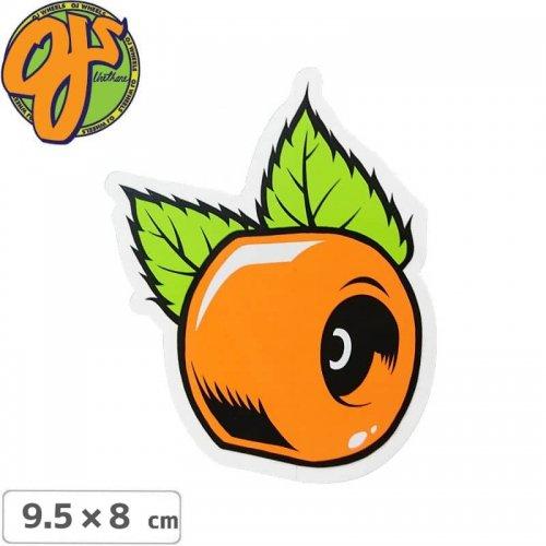 【オージェイ OJ3 スケボー ステッカー】ORANGE 3【9.5cm × 8cm】NO19