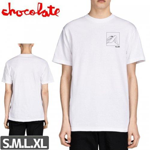 【チョコレート CHOCOLATE スケボー Tシャツ】MODERN LOVE TEE【ホワイト】NO178