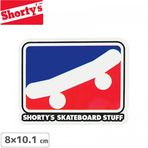 【ショーティーズ SHORTYS ステッカー】SKATE ICON STICKER【8cm x 10.1cm】NO20
