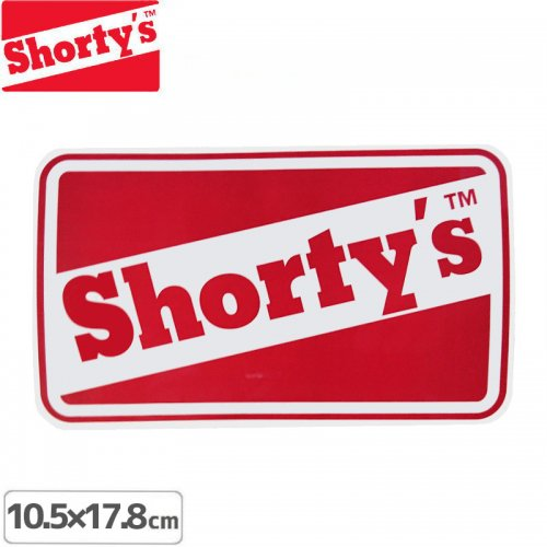 【ショーティーズ SHORTYS ステッカー】OG CLASSIC STICKER【10.5cm x 17.8】NO21