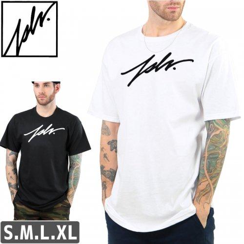【ジャスリブ JSLV スケボー Tシャツ】SIGNATURE TEE【ブラック】【ホワイト】NO18