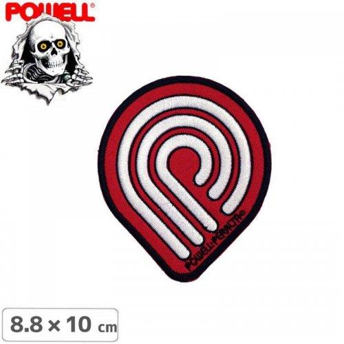 【パウエル POWELL スケボー ワッペン】PATCH PP WINGED RIPPER【8.8cm x 10cm】NO10