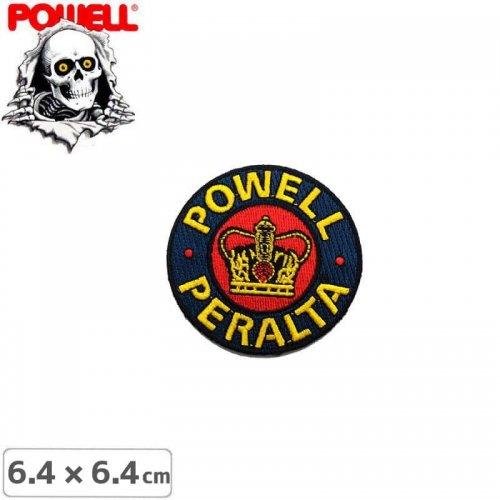 【パウエル POWELL スケボー ワッペン】PATCH PP SUPREME【6.4cm x 6.4cm】NO11