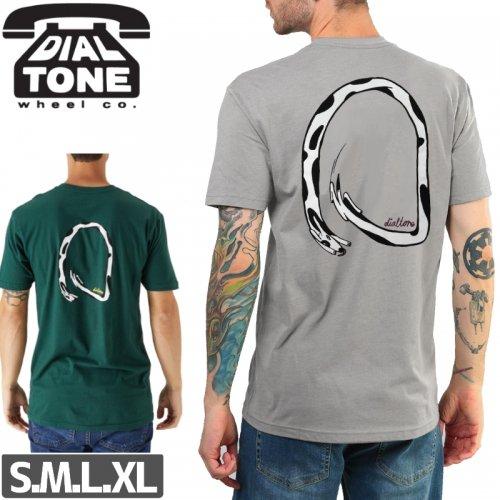 【ダイアルトーン DIAL TONE WHEELS スケボー Tシャツ】CHASONG TAIL TEE【2カラー】NO2