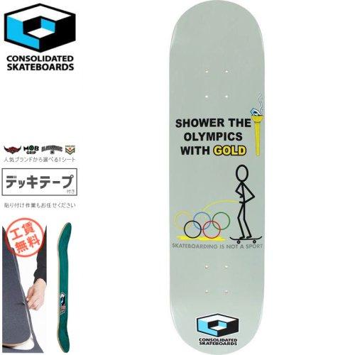 【CONSOLIDATED コンソリデーテッド スケートボード デッキ】SHOWER OLYMPICS DECK[8.0インチ][8.125インチ]NO20