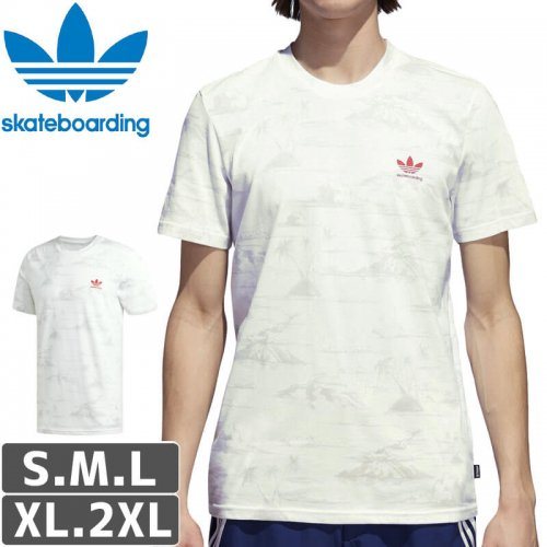 【アディダス Tシャツ ADIDAS SKATEBOARDING 】Clima 2.0 Haven Tee【ホワイト】NO43