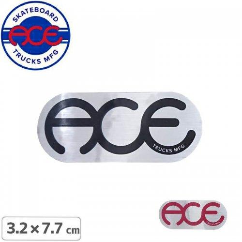 【ACE TRUCKS エース スケボー ステッカー】RINGS LOGO【3.2cm × 7.7cm】NO3