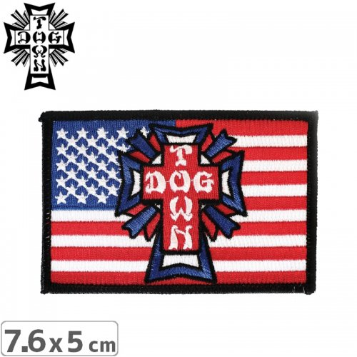 【DOG TOWN ドッグタウン ワッペン】EMBROIDERED PATCH FLAG NO5
