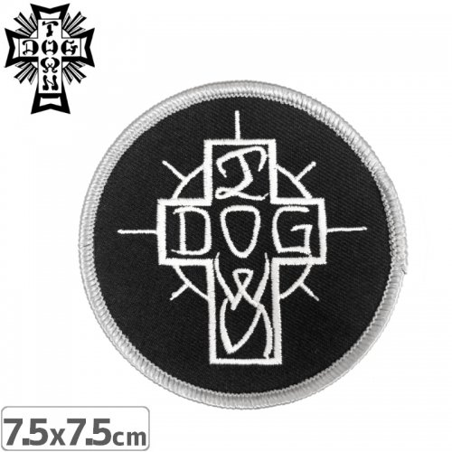 【DOG TOWN ドッグタウン ワッペン】ESE CROSS PATCH NO6