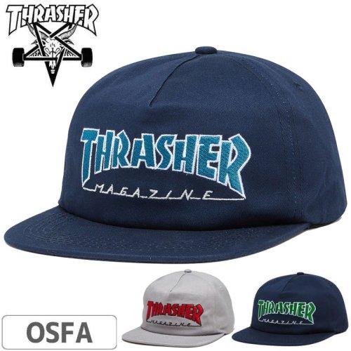 【スラッシャー THRASHER  キャップ】USAモデル OUTLINED SNAPBACK CAP NO44