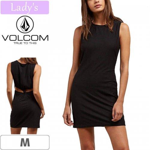 【VOLCOM WOMENS ボルコム レディース ワンピース】KNOT YOURS DRESS【ブラック】NO7