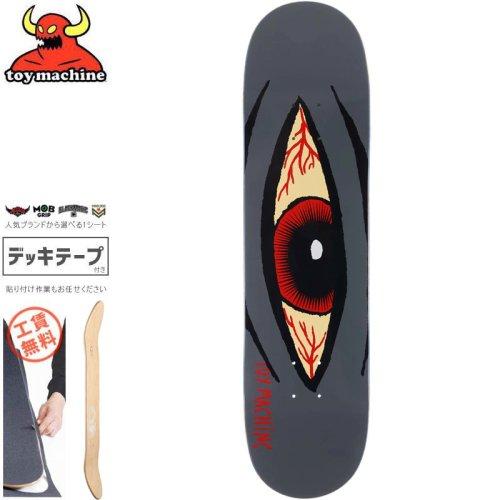 【トイマシーン TOY MACHINE スケートボード デッキ】SECT EYE BLOODSHOT DECK【8.125インチ】NO164