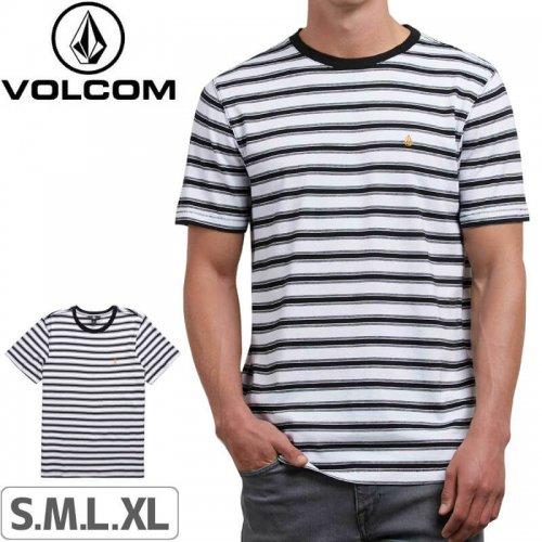 【VOLCOM ボルコム Tシャツ】BRIGGS CREW TEE【ホワイト】NO115