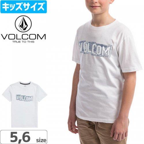 【ボルコム VOLCOM キッズ Tシャツ】LITTLE BOYS EDGE TEE【オフホワイト】NO84
