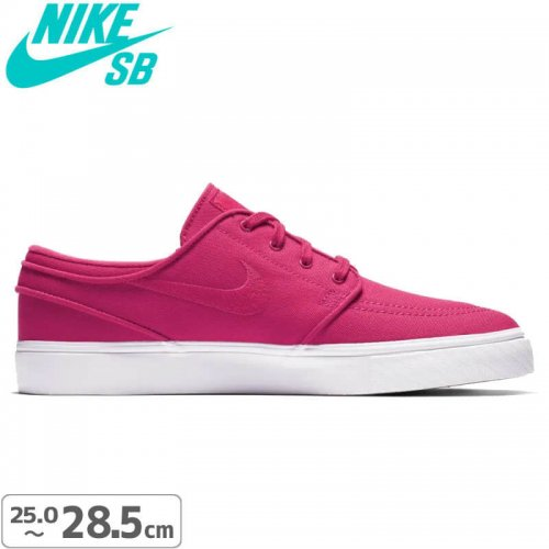 【NIKE SB ナイキエスビー スケートシューズ】Nike SB Zoom Stefan Janoski Canvas【ラッシュピンク】NO131