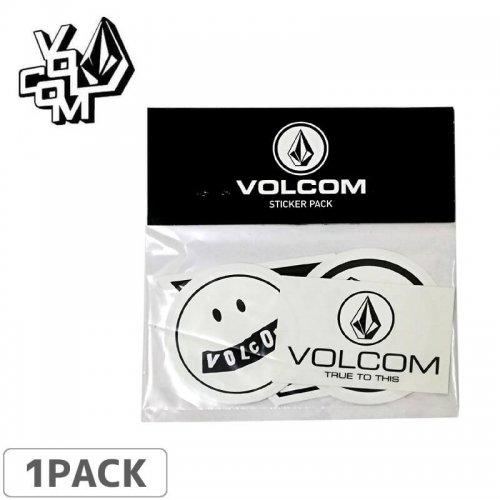 【ボルコム VOLCOM ステッカーSTICKER PACK【5枚入り】NO354