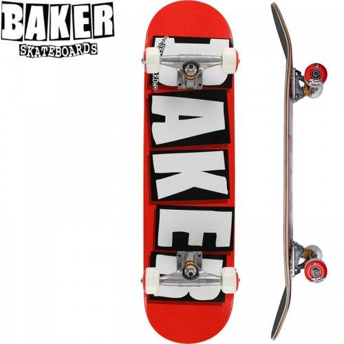 【ベーカー BAKER スケボー コンプリート】BRAND LOGO WHITE COMPLETE【7.75インチ】【8.0インチ】NO3