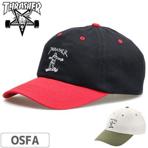 【スラッシャー THRASHER  キャップ】US規格 Gonz Old Timer Dad Hat NO45