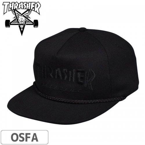 【スラッシャー THRASHER  キャップ】Rope Snapback Cap (USAモデル)NO46