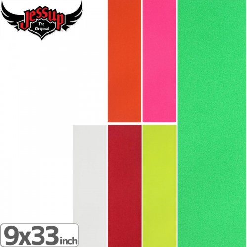 【ジェスアップ JESSUP デッキテープ】COLORED PIMP GRIPTAPE 【6カラー】【9 x 33】NO2