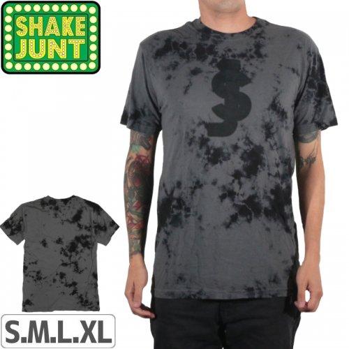 【シェイクジャント SHAKE JUNT Tシャツ】CHAOS TIE DYE TEE【タイダイ】NO28