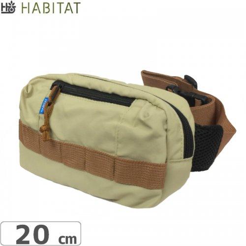 【HABITAT ハビタット スケボー バッグ】FIELD BAG【ベージュ】NO7