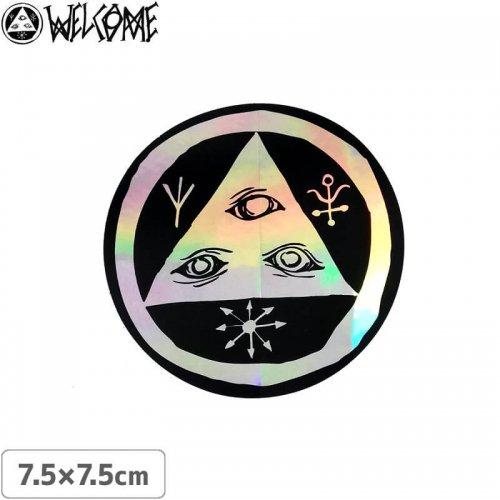 【スケボー ステッカー ウェルカム】WELCOME TALISMAN 3