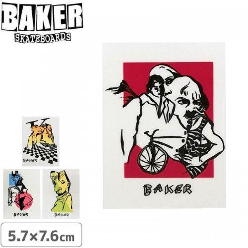 【ベーカー スケボー ステッカー】BAKER MIND BENDS SERIES STICKER【5.7cm×7.6cm】NO58