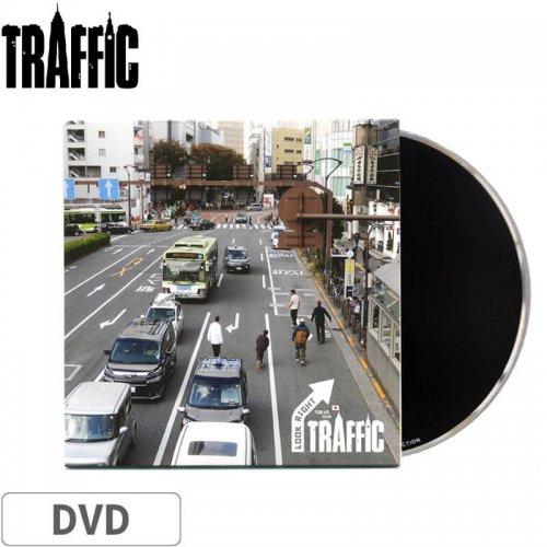 【TRAFFIC トラフィック スケボー DVD】LOOK RIGHT TOKYO TOUR NO2