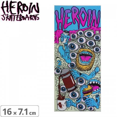 【ヘロイン スケボー ステッカー】CHILDRESS MUTATION【16cm×7.1cm】NO40