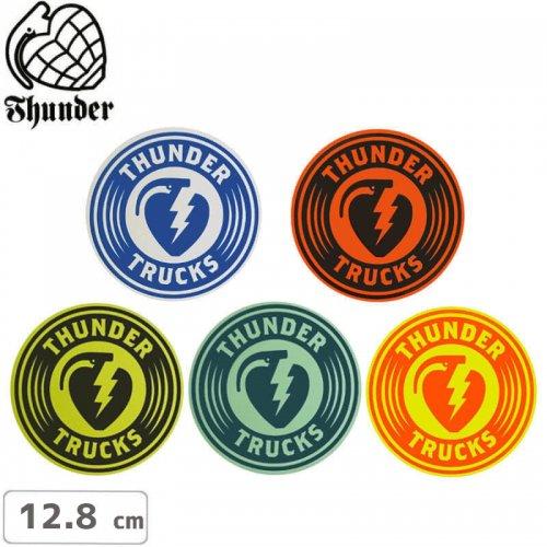【サンダートラック THUNDERスケボー ステッカー】CHARGED STICKER【12.8cm】NO43