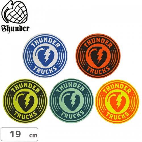 【サンダートラック THUNDERスケボー ステッカー】CHARGED STICKER【19cm】NO44
