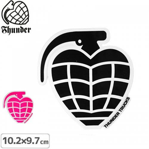 【サンダートラック THUNDERスケボー ステッカー】GRENADE DIECUT【10.2cm×9.7cm】NO45