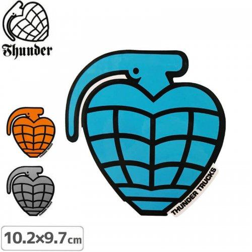 【サンダートラック THUNDERスケボー ステッカー】GRENADE DIECUT【10.2cm×9.7cm】NO46