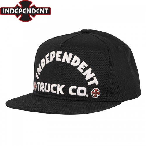 【インディペンデント INDEPENDENT キャップ】ITC BOLD SNAPBACK CAP【ブラック】NO54