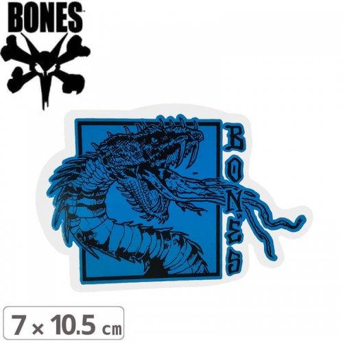 【ボーンズ BONES スケボー ステッカー】TIME BEASTS STICKER【7cm x 10.5cm】NO57