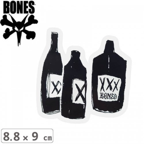 【ボーンズ BONES スケボー ステッカー】SPEAK EASY STICKER【8.8cm x 9cm】NO59