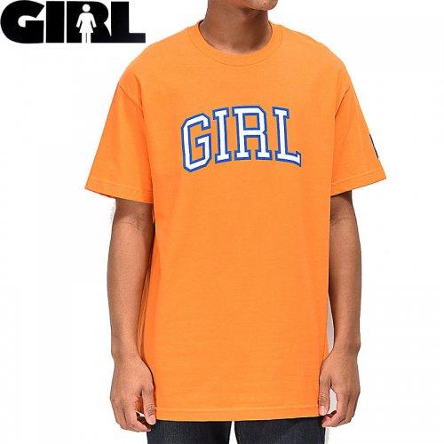 【ガール GIRLSKATEBOARD  スケボー Tシャツ】ARCH PRO TEE【オレンジ】NO301