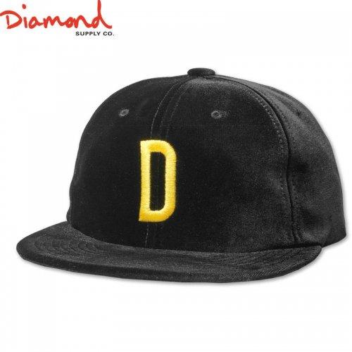 【DIAMOND SUPPLY ダイアモンドサプライ キャップ】HOME TEAM SNAPBACK SP19【ブラック】NO84
