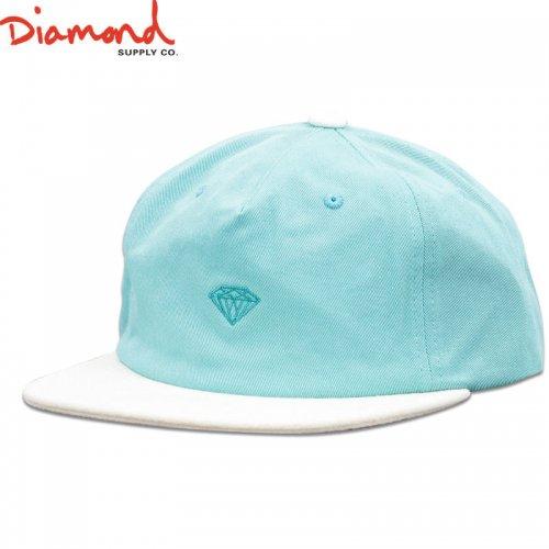 【DIAMOND SUPPLY ダイアモンドサプライ キャップ】MICRO 2TONE BRILLIANT SNAPBACK【ブルー】NO86