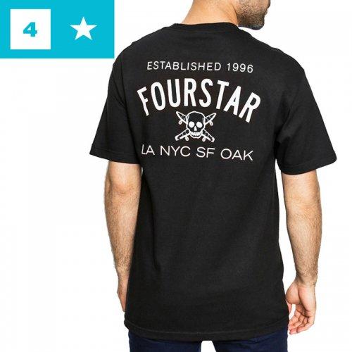 【フォースター FOURSTAR スケボー Tシャツ】CLASSIC TEE【ブラック】NO180