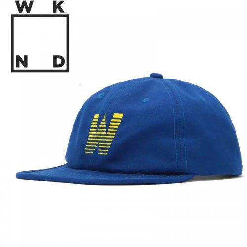 【ウィークエンド WKND スケボー キャップ CAP】GRADIENT W HAT【ロイヤルブルー】NO8