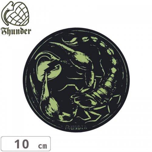 【サンダートラック THUNDERスケボー ステッカー】STINGER GLOW STICKER【10cm】NO50